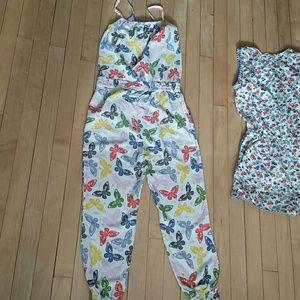 Mini Boden Dresses - 2 mini Boden rompers EUC 11-12 y